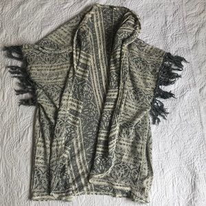 Free people open front cardigan size S